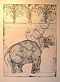 A group of eleven Robert Rivers etchings, unframed Various sizes (11)