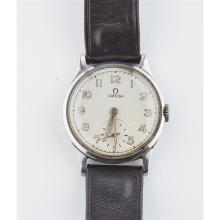 OMEGA - A gentleman's stainless steel wrist watch Dial diameter: 30mm