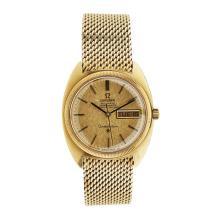 OMEGA - A gentleman's gold cased wrist watch Dial diameter:
