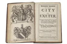 IZACKE, RICHARD REMARKABLE ANTIQUITIES OF THE CITY OF EXETER