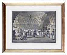 LUIGI MAYER (ITALIAN 1755-1803) SALA DEL DIVAN DOVE IL G. VIZIR TRATTA CON PRANZO