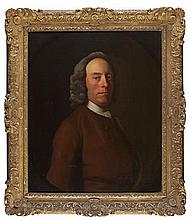 ALLAN RAMSAY (SCOTTISH 1713-1784) PORTRAIT OF THOMAS SHAIRP, 5TH LAIRD OF HOUSTON (D.1772) 76.25cm x 63.5cm (30in x 25in)