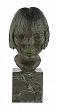 § SIR JACOB EPSTEIN (BRITISH 1890-1959) PORTRAIT OF ELLEN JANSEN 32cm (12.5in)