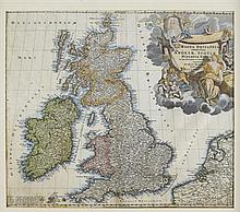 THREE MAPS OF SCOTLAND PONT, TIMOTHY - BLAEU, JOAN, 17TH & 18TH CENTURY