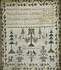 TWO ENGLISH NEEDLEWORK SAMPLERS 18TH / 19TH CENTURY
