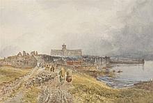 SAM BOUGH R.S.A. (BRITISH 1822-1878) KIRKWALL, ORKNEY - 1866 34.5cm x 51.5cm (14in x 20.25in)