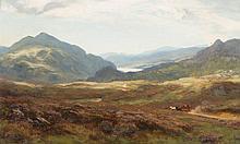 DAVID FARQUHARSON (SCOTTISH 1839-1907) LOCH KATRINE 56cm x 91cm (22in x 35.75in)