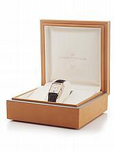 GIRARD PERREGAUX - A gentleman's 18ct rose gold cased wrist watch Dial: 34mm x 47mm