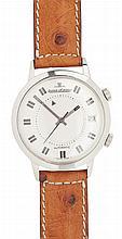 JAEGER LE COULTRE MEMOVOX REVEIL ALARM - A gentleman's stainless steel wrist watch Dial diameter: 31mm
