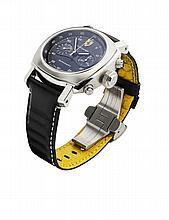 OFFICINE PANERAI - A gentleman's stainless steel chronograph Dial diameter: 45mm