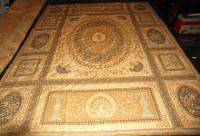 Aubusson tapestry rug. 10' 9