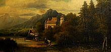 Frederick Schafer, 1839-1927 European School, Landscape