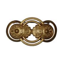 Antique Gold Art Nouveau Brooch Pin