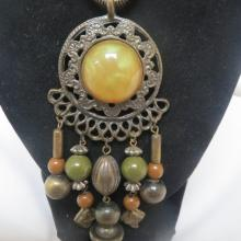 Vintage Native American Inspired Necklace