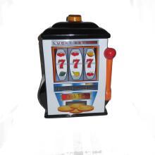 Lucky 777 Casino Slot Machine Cookie Jar
