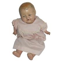 Beautiful or Creepy Old Baby Doll w/ Moving Eyes