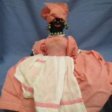 Old Black Americana Mammy Doll
