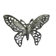 Vintage Sarah Coventry Silver Butterfly Brooch