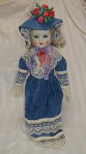 Victorian Inspired Porcelain Doll
