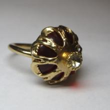 Vintage Sarah Coventry Gold Costume Jewelry Ring