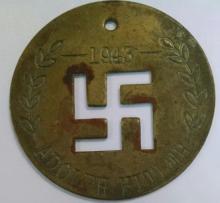 Adolph Hitler Nazi Medal