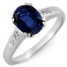 10K White Gold Jewelry 1.35 ctw Kunzite & Diamond Ring - SKU#U17P8- 1980- 10K