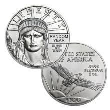 Brilliant Uncirculated 1 oz Platinum American Eagle - Random date