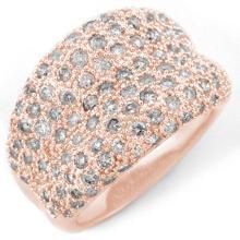 Natural 2.0 ctw Diamond Ring 14K Rose Gold - 10934-#111V2A