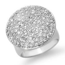 Natural 1.50 ctw Diamond Ring 18K White Gold - 13972-#133T4Z