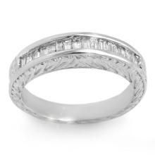Natural 1.33 ctw Diamond Ring 14K White Gold - 11564-#96X2Y