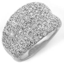 Natural 2.0 ctw Diamond Ring 18K White Gold - 10936-#134Z3P