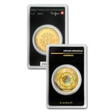 1oz Argor-Heraeus KineRound in Assay - .9999 Fine Gold