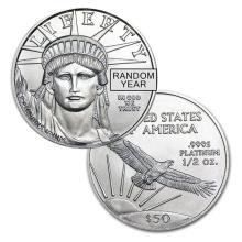 Brilliant Uncirculated 1/2 oz Platinum American Eagle - USJL9809