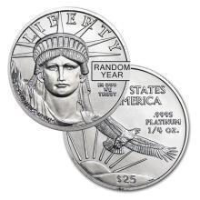 Brilliant Uncirculated 1/4 oz Platinum American Eagle