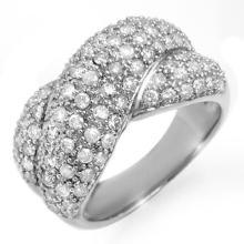 Natural 2.05 ctw Diamond Ring 18K White Gold - 14359-#142A8N