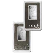 1oz Valcambi Platinum Bar in Assay - .9995 Fine Platinum - USJL5761