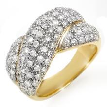 18K Yellow Gold Jewelry 2.05 ctw Diamond Anniversary Ring - SKU#U98V8- 99677- 18K