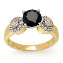 18K Yellow Gold Jewelry 1.90 ctw Diamond Bridal Ring - SKU#U58G5- 2071- 18K
