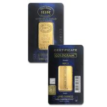 1oz Istanbul Gold Refinery Gold Bar in Assay - .9999 Fine Gold