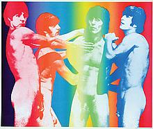 Poster by  Anonymous - The Beatles naked