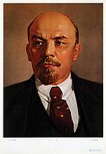 Posters (5) by  Anonymous - V.I. Lenin