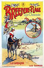 Poster by Victor 't Sas - Breedene-Plage