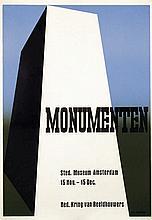 Poster by Otto Treumann - Monumenten