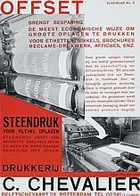 Poster by Paul Schuitema - Drukkerij C. Chevalier Offset Steendruk