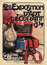 Poster by Victor Cretèn - 2e Exposition d'Art Décoratif