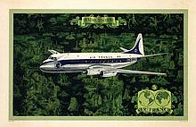 Poster by  Anonymous - Air France Vickers