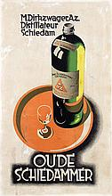 Poster by  Anonymous - Ouwe Schiedammer Genever