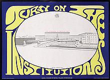 Poster by Sture Johannesson - Turn on The Institutions