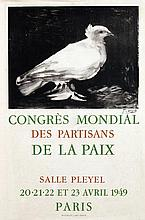 Poster by Pablo Picasso - Congrès Mondial de la Paix Paris