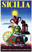 Poster by  Studio Artass - Sicilia